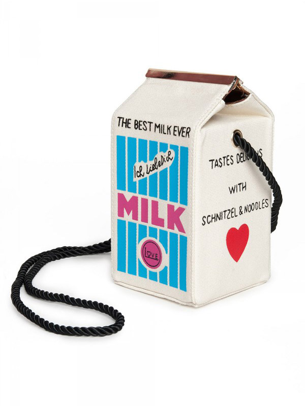 블랙피치Milk Box Bag