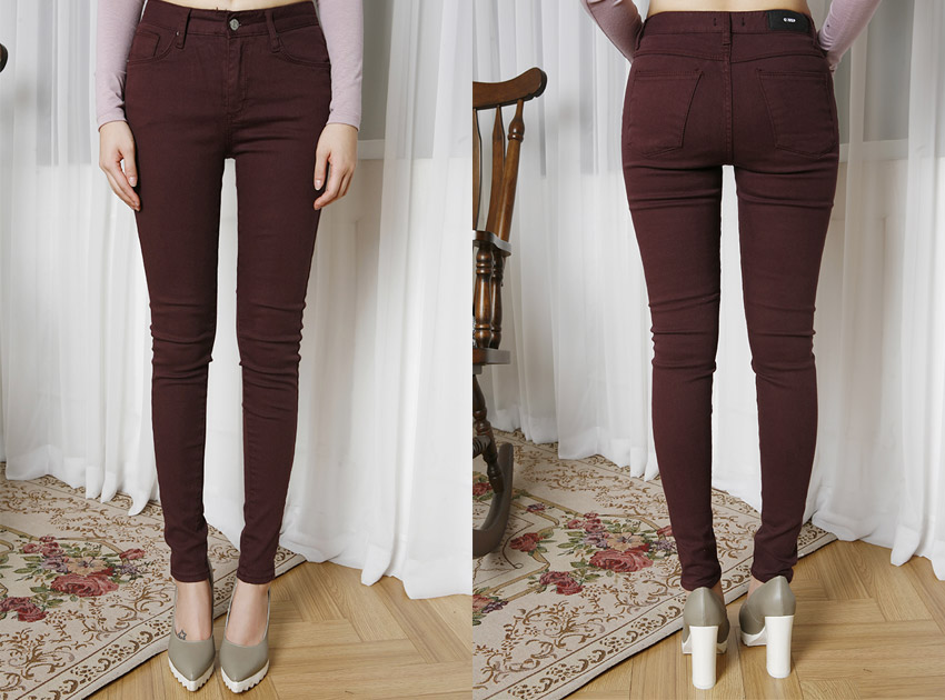 블랙피치 (sample sale) Basic Skinny Pants