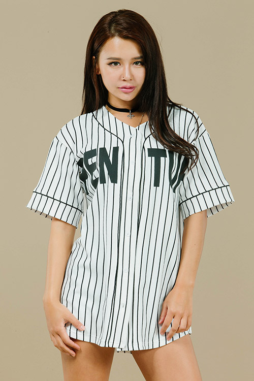 블랙피치PENT UP Baseball Jersey