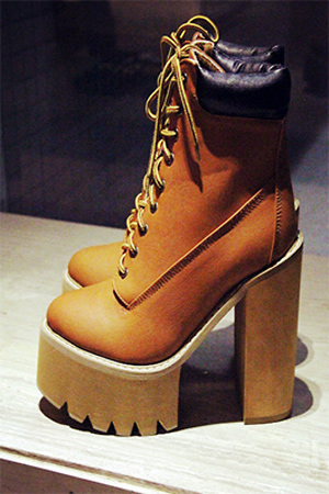 블랙피치The HBIC Boot in Wheat Leather (해외배송)
