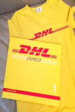 블랙피치(Sample sale) DHL Envelope Clutch  Bag