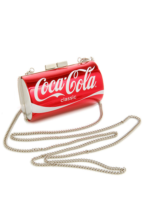 블랙피치Coca Cola Clutch Bag