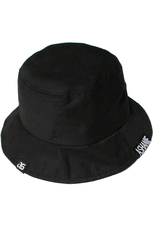 블랙피치[ASHANIE] Basic Bucket Hat (Black)