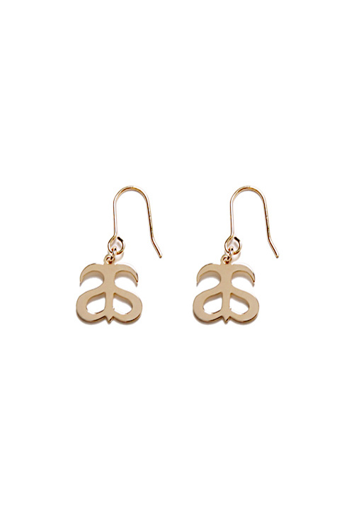 블랙피치[ASHANIE] Basic Hook Earrings