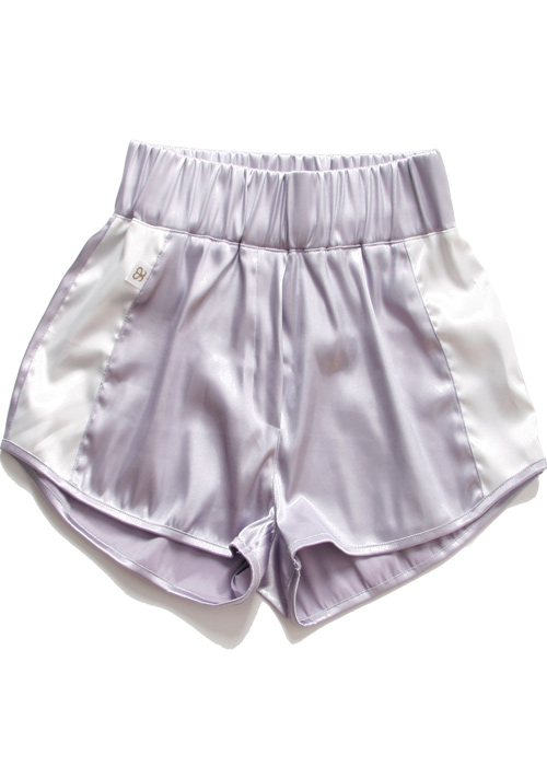 블랙피치[ASHANIE] Training Shorts (Violet)