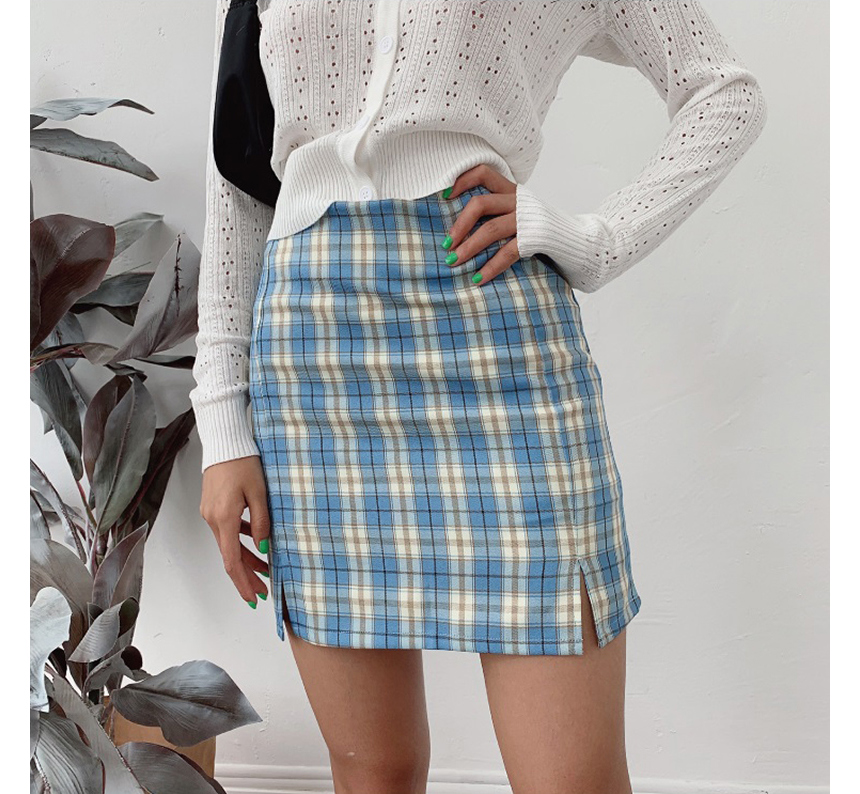 mini skirt model image-S1L79