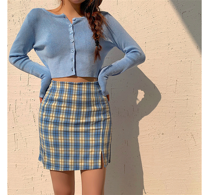 mini skirt model image-S1L97