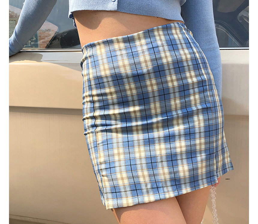 mini skirt model image-S1L28