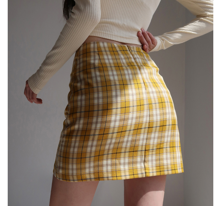 mini skirt model image-S1L47