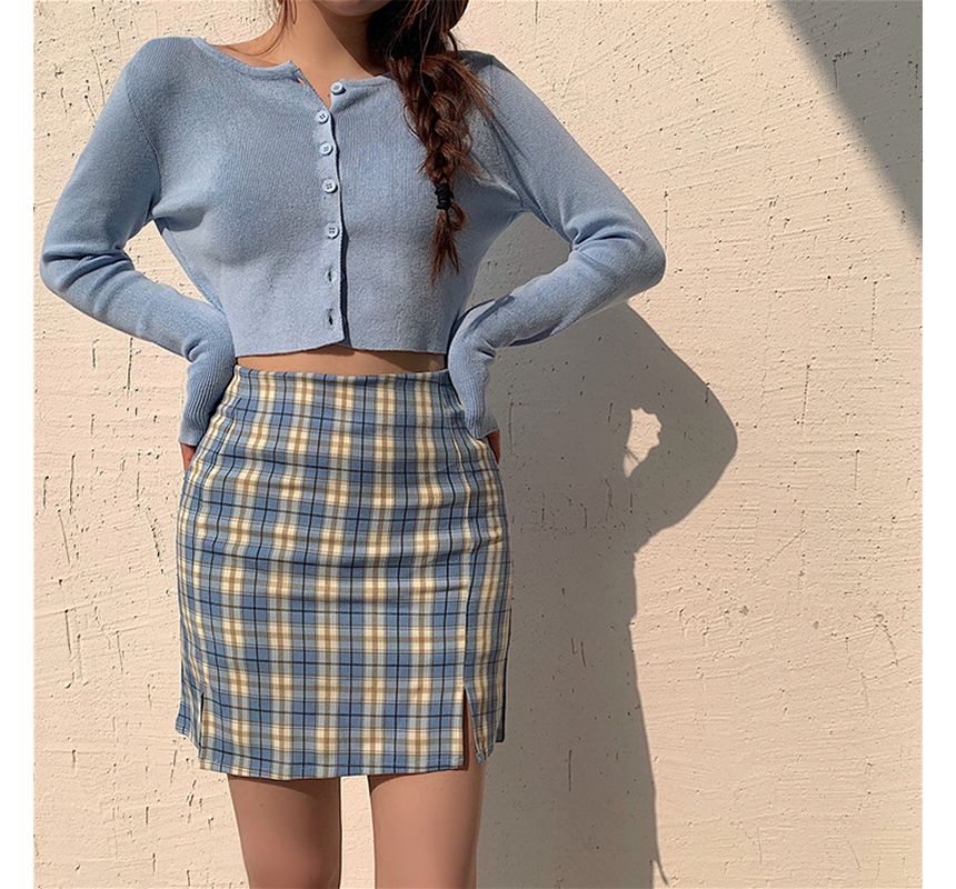 mini skirt model image-S1L89