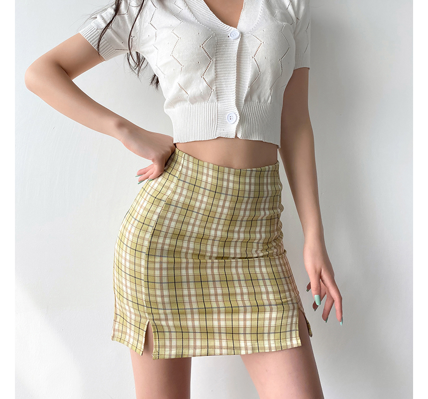 mini skirt model image-S1L64