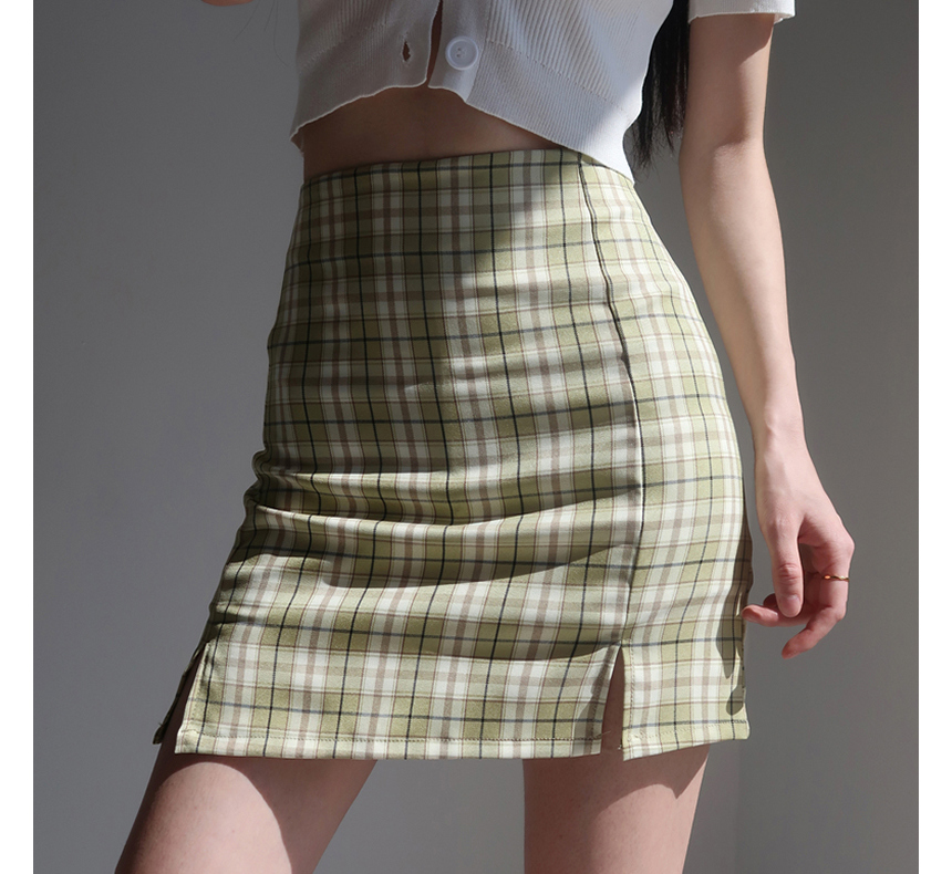 mini skirt model image-S1L70