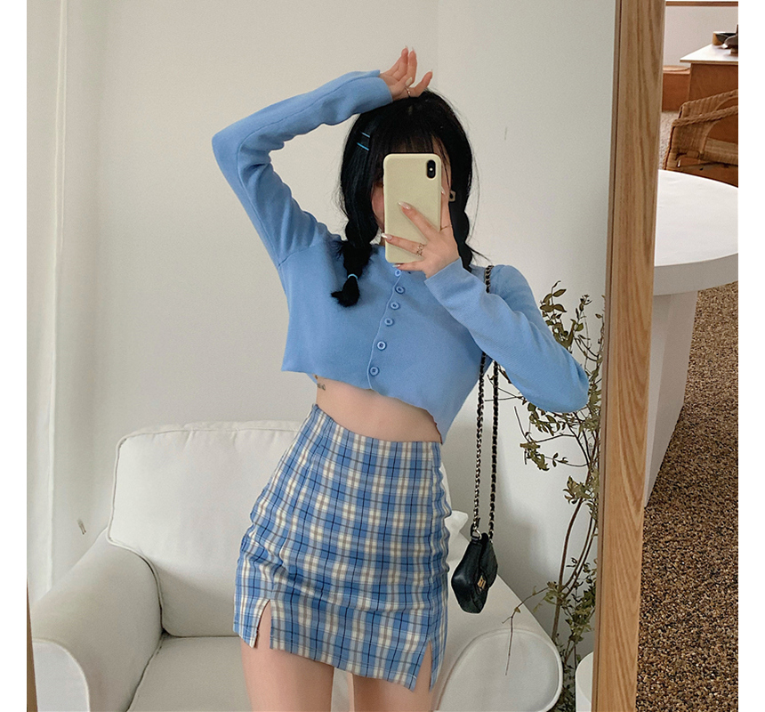 mini skirt model image-S1L92