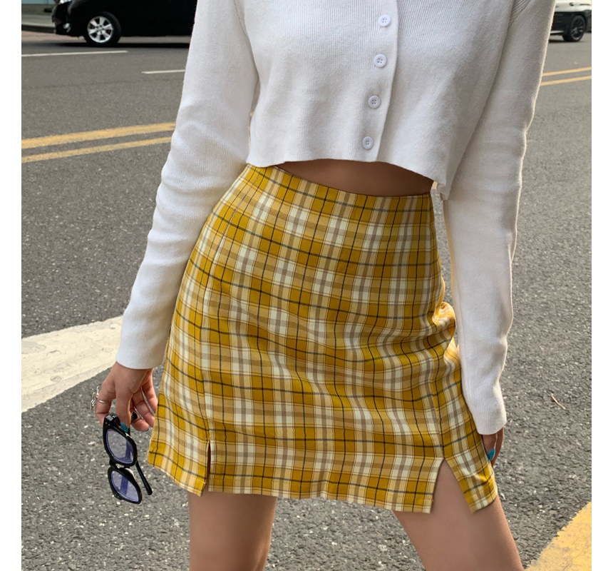 mini skirt model image-S1L73