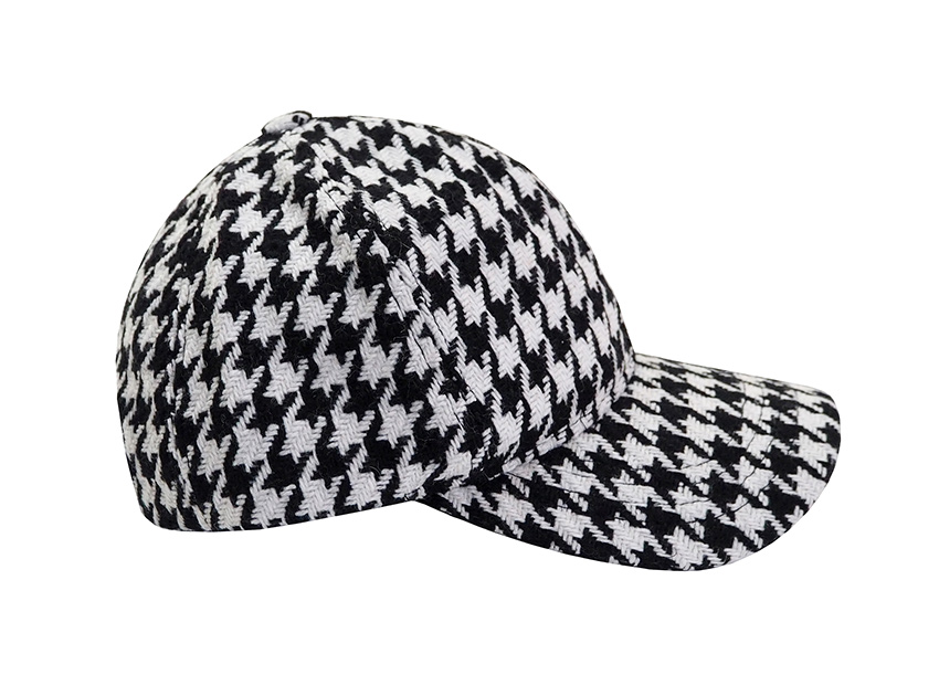블랙피치Hound Tooth Check Baseball Cap (재입고)