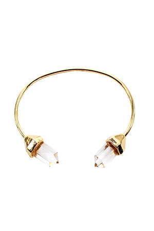 블랙피치Gemstones Bangle