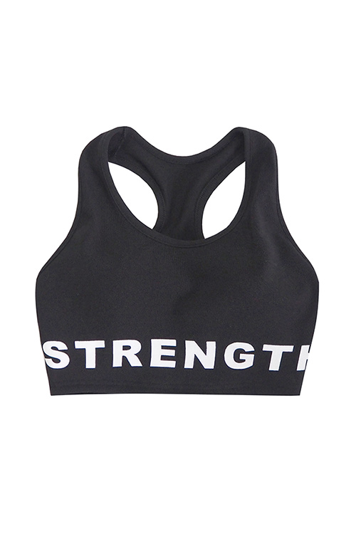 블랙피치STRENGTH Crop Top