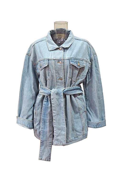블랙피치Oversize Denim Jacket